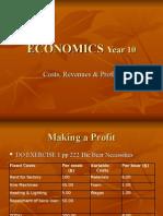 Chapter 13 Cost Revenue Profits