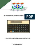 Capa Da Apostila Da Disciplina a Financeira - Uesc- 2011.2