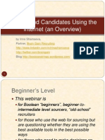 How to Find Candidates Using the Internet