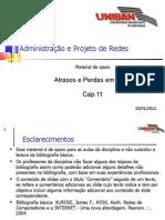 RED011 - Cap.11 - Atrasos e Perdas Em Rede 20110125