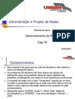 RED016 - Cap.16 - Gerenciamento de Redes 20110101