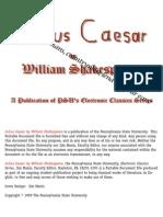 Julius Caeser - Shakespeare