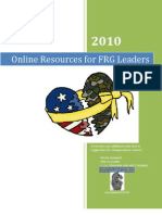Resources for FRG Leaders and Families