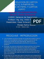 RECICLAJE- Presentacion v1