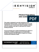 Production Specs 2010