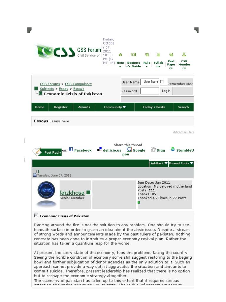 Eco Crisis Css Forums | Internet Forum | Websites
