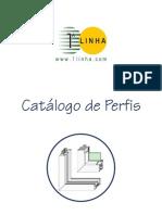 1ª LINHA - Catálogo Completo de Perfis 2008