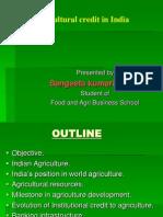 Agri Credit in India