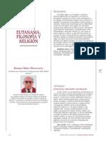 EUTANASIA, FILOSOFÍA Y RELIGIÓN