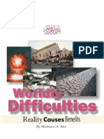 Wordly difficulties-Sister Shawana a. Aziz