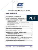 Journal Entry Adv Guide