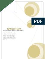 Swings in Java
