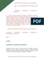 Apuntes Gramática - 2008 primer cuatrimestre