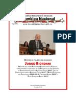 Discurso Jorge Giordani Ley de Presupuesto 2010