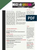 Notiziario Amici Di Libera Maggio n. 2