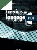 Exercices en Langage C Delannoy