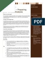 Factsheet 03 Preparing Your Critical Analysis