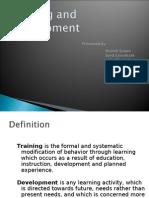 Training n Development Ppt
