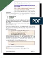 ILP Case Study - India Automobile CRM