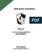 manajemen biaya strategik