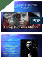 Marquez, Gabriel Garcia  - 13 randuri pentru o viaţă