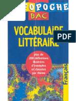 200 définitions de vocabulaire littéraire