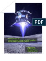 A Comparison of Lunar Landing Trajectory Strategies Using Numerical Simulations