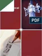Apostila técnica vocal