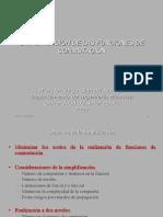 CAPITULO III - SIMPLIFICACIÓN DE LAS FUNCIONES DE CONMUTACIÓN