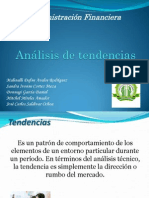 Analisis de tendencias