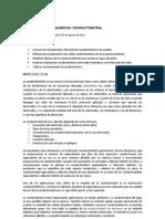informe de conductimetria
