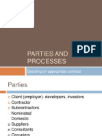 Parties and Processes