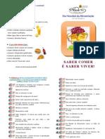 Dia da Alimentação - Folheto informativo