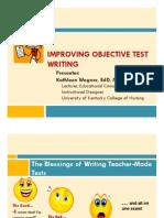 Improving Obj Test Writing p1