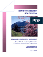 2010 Lake County Health Needs Assessment
