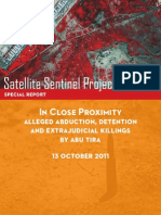 Satellite Sentinel Project Report on Abductions and Killings by Abu Tira 101311