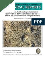 Contaminacion de Luz en Playas de Anidacion de Tortugas Marinas
