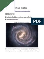 La caída de Gaia Sophia traducido por North Vortex