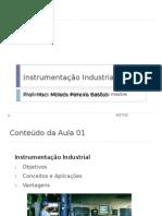 Aula 01 - Instrumentação Industrial