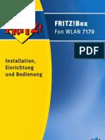 Handbuch Fritzbox Fon Wlan 7170