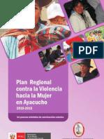 Plan Regional Contra La Violencia Hacia La Mujer - Ayacucho