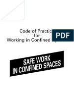 Code of Practice for Working in Confined Spaces