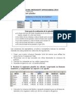 Prácticas  Excel 1º y 2º