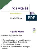 Signos vitales diapositiva