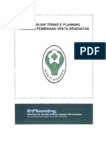 JUknis E pLanning