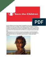 Save the Children Serves Impoverished