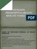 Atencion Pre Hospital Aria en Rescate Vehicular
