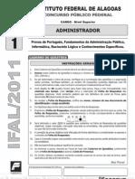 Prova Tipo 1 Administrador.pdf IFAL