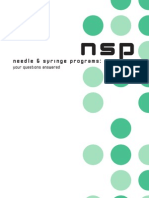 Needle and Syringe Programs