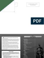Batman Arkham Asylum PC Manual